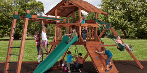 Why Should You Choose Cedar For Your Wooden Playset?, Urbandale, Iowa