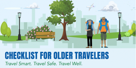 Information for International Travelers 55+, Pittsford, New York