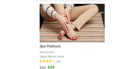 Pedicure Groupon Online, Rochester, New York