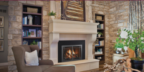 Top 3 Benefits of Gas Insert Fireplaces During Power Outages, Penfield, New York