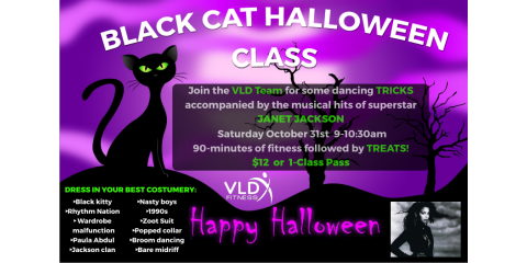 Halloween at VLD: Dance Fitness Tricks & Treats, Manchester, New Hampshire