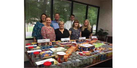 SMC Offices Create Designs with Donated Food Items, High Point, North Carolina