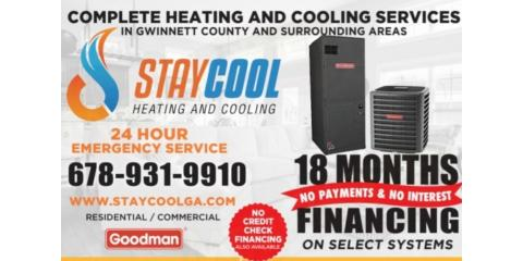 New Air conditioning  system financing available. Great cash deals available also.  , Peachtree Corners, Georgia