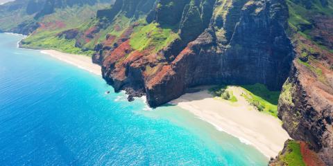 The Best Sea Caves Off the Nā Pali Coast, Kekaha-Waimea, Hawaii