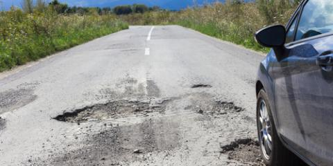 The Real Dangers of Potholes Revealed, Nicholasville, Kentucky