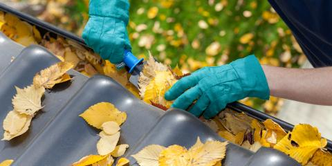 3 Tips to Keep Gutters in Good Shape Throughout Fall & Winter, Fairfield, Ohio
