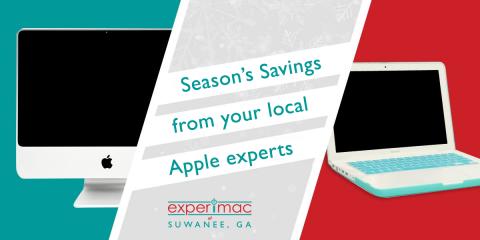 MacBook® Laptops, Mac Mini®, & iPad® Tablet Holiday Deals, Suwanee, Georgia