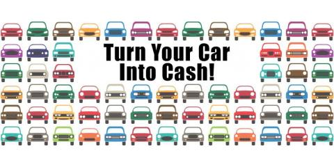 Bessler's car into cash!, Hebron, Kentucky