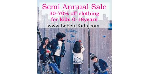 Semi Annual Sale 30-70% off, Manhattan, New York