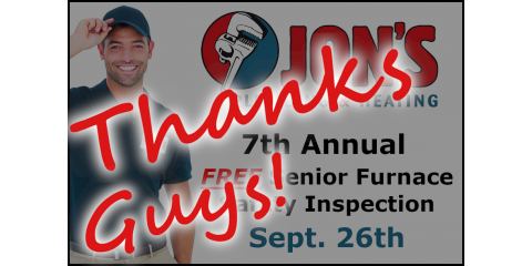 RESULTS:  2019 FREE Senior Furnace Safety Inspection, Mount Vernon, Ohio