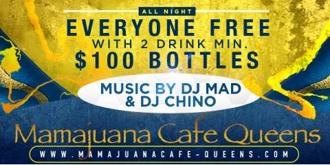 VIERNES BRILLANTES- $100 BOTTLES- SEPT 13th- MAMAJUANA CAFE QUEENS , New York, New York
