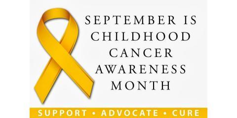 #30DayChallenge Childhood Cancer Awareness, Highland, Illinois