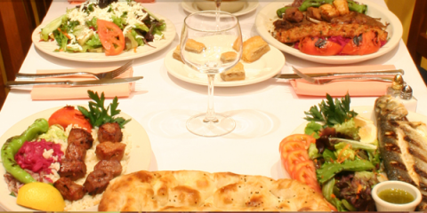 Mediterranean Foods From Seven's Turkish Grill Benefit The Body, Manhattan, New York