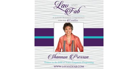 Shannon Presson at Lav and Fab, Calistoga, California