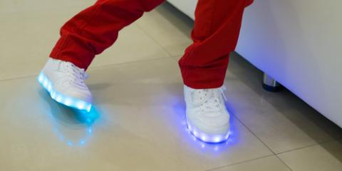 The Dos & Don'ts of Owning Light-Up Sneakers, Brighton, New York