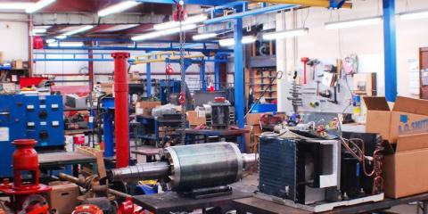 A-1 Electric Motor Service, Electric Motor Repair, Services, Covington, Kentucky