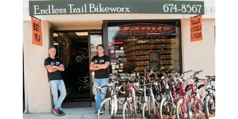 ENDLESS TRAIL BIKEWORX, Bicycle Shops, Shopping, Dobbs Ferry, New York