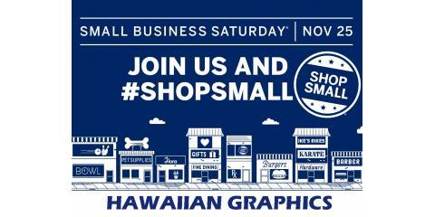 Small Business Saturday, Honolulu, Hawaii