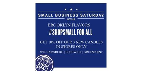 Shop Small Business Saturday at Brooklyn Flavors, Brooklyn, New York