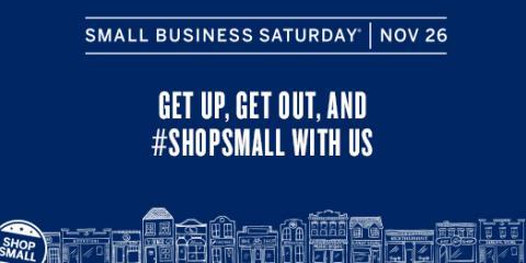 Shop Small Saturday!, Minocqua, Wisconsin