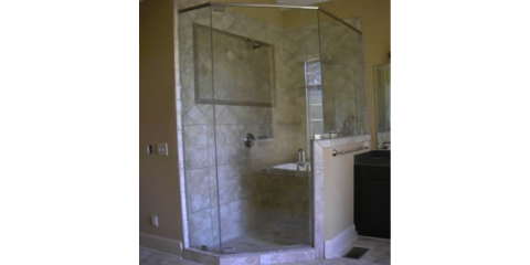 Redo Your Bathroom In Style With Frameless Custom Glass Shower Enclosures   Furniture  City Glass U0026 Mirror Co.   High Point | NearSay