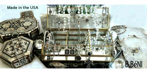 B.BéNI Jewelry 25% OFF SALE! bbeni.com Old World-New Trends!, Westfield, Massachusetts