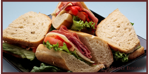 Plan The Perfect Picnic With Simply Elegant Sandwich Platters, Reston, Virginia