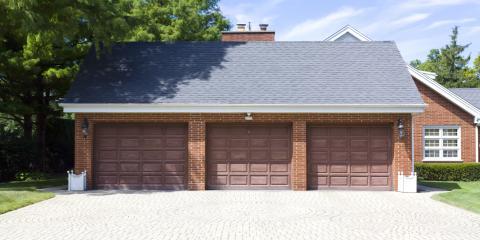 5 Types of Garage Doors, Sioux City, Iowa