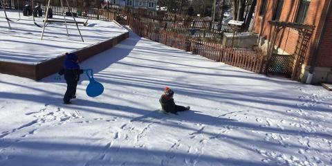 3 Reasons Why Outdoor Play in the Winter Helps Child Development, Cromwell, Connecticut