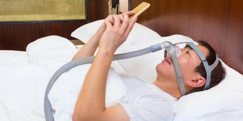Is Your CPAP Mask Keeping You Up? How to Fall Asleep Easily, Dansville, New York
