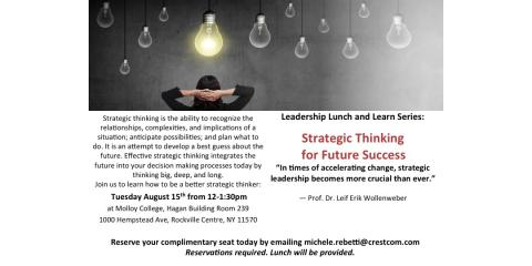 FREE workshop: Strategic Thinking, Huntington, New York