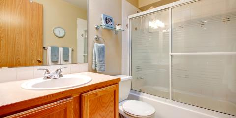 How the pros install sliding glass doors in your shower for Pros and cons of sliding glass doors