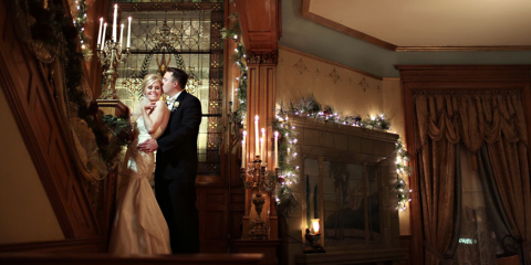 Plan a Very Merry Holiday Wedding in Wiedemann Hill Mansion's Elegant Event Space, Newport-Fort Thomas, Kentucky
