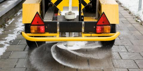 Snow Plowing Team Explains Pre-Wetted Salt & Reasons for Using It, Anchorage, Alaska