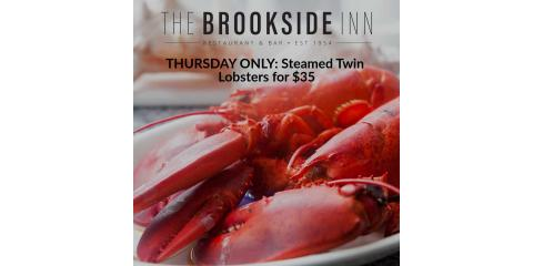Our Steamed Lobster Special will be available this evening for $35! Thursday only! #supportlocal, Oxford, Connecticut
