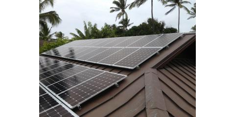 The Sonshine Solar Corp., Solar Heating, Services, Haiku, Hawaii