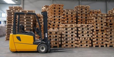 How InfoLink® Makes Crown Forklift Usage More Efficient, South Plainfield, New Jersey