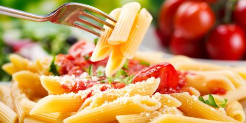 The Health Benefits of Eating Pasta at an Italian Restaurant, Southwick, Massachusetts