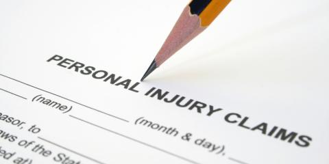 Top 5 Causes of Accident & Personal Injury Claims , Sparta, Wisconsin