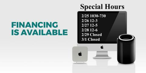 Special Hours week of 2/25, King of Prussia, Pennsylvania