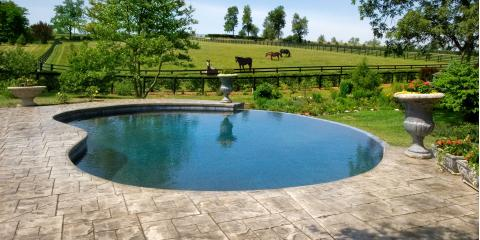 Advantages and disadvantages of the 3 types of inground for Types of inground pools