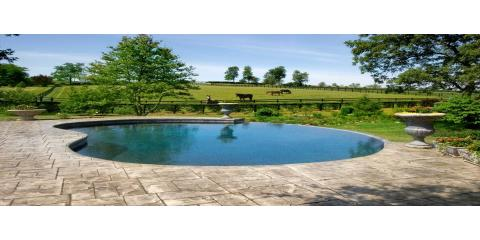 Vinyl vs concrete vs fiberglass pools geddes pools - Concrete swimming pools vs fiberglass ...