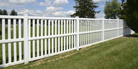 5 Advantages of a Vinyl Fence, Spencerport, New York