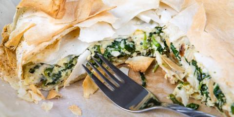 Spanakopita: Greece's Favorite Spinach Pies, New York, New York