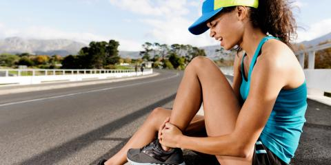 4 Steps to Treat a Sprained Ankle, Florissant, Missouri