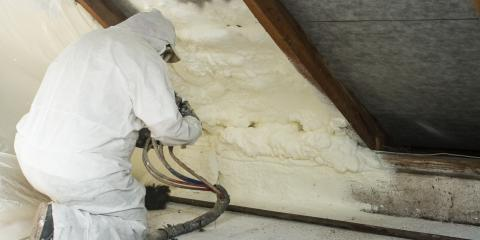 3 Benefits of Spray Foam Insulation, Eminence, Kentucky