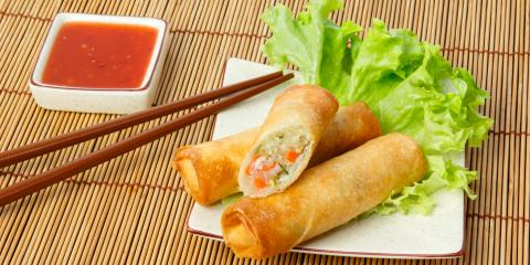 What Is the Difference Between Spring Rolls & Garden Rolls?, Brighton, New York