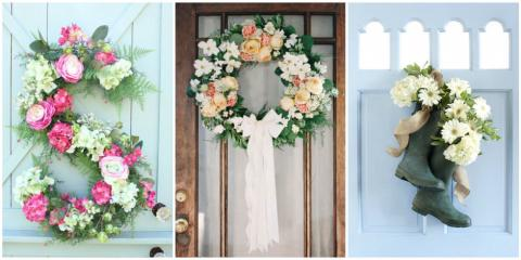 30 Spring Wreaths That Will Freshen Up Your Front Door, Cincinnati, Ohio