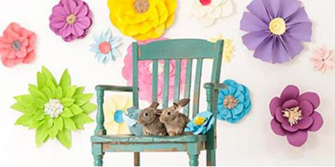 Easter Portraits with Bunnies and Chicks, Anderson, Ohio