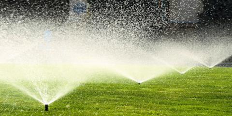 3 Benefits of a Sprinkler System, Danley, Arkansas